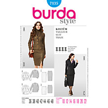 Buy Simplicty Burda Jacket and Skirt Suit Sewing Pattern, B7135 Online at johnlewis.com
