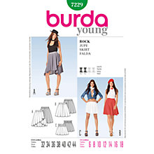 Buy Simplicity Burda Skirt & Trousers Sewing Pattern, 7229 Online at johnlewis.com