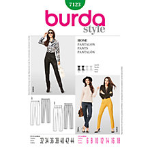 Buy Simplicity Burda Skirt & Trousers Sewing Pattern, 7123 Online at johnlewis.com