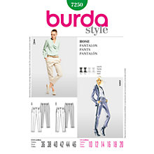 Buy Simplicity Burda Skirt & Trousers Sewing Pattern, 7250 Online at johnlewis.com