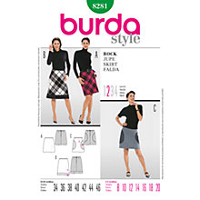 Buy Simplicity Burda Skirts Sewing Pattern, B8281 Online at johnlewis.com