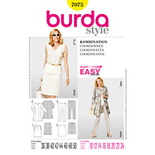 Buy Simplicity Burda Smart & Casual Sewing Pattern, B7075 Online at johnlewis.com