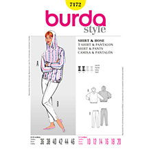 Buy Simplicity Burda Hoodie & Trousers Sewing Pattern, B7172 Online at johnlewis.com