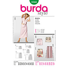 Buy Simplicity Burda Long & Short Skirts Sewing Pattern, B8344 Online at johnlewis.com