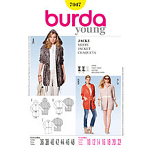 Buy Simplicity Burda Jackets Sewing Pattern, B7047 Online at johnlewis.com