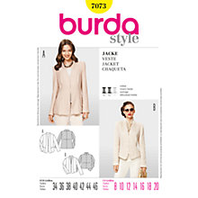 Buy Simplicity Burda Women's Jacket Sewing Pattern, B7073 Online at johnlewis.com