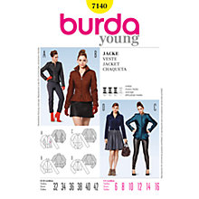 Buy Simplicity Burda Women's Jacket Sewing Pattern, B7140 Online at johnlewis.com