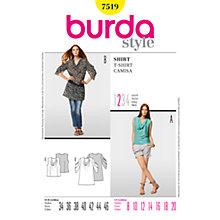 Buy Simplicity Burda Women's Top Sewing Pattern, B7519 Online at johnlewis.com