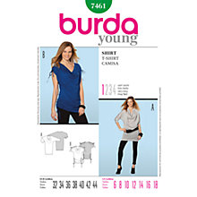 Buy Simplicity Burda Women's Top Sewing Pattern, B7461 Online at johnlewis.com