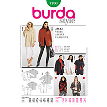 Buy Simplicity Burda Women's Coat Sewing Pattern, B7700 Online at johnlewis.com