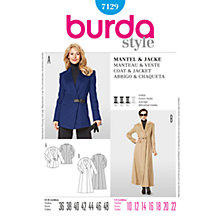 Buy Simplicity Burda Women's Blazer Jacket Sewing Pattern, B7129 Online at johnlewis.com