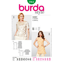 Buy Simplicity Burda Tunic & Top Sewing Pattern, B7064 Online at johnlewis.com