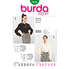 Buy Simplicity Burda Women's Blouse Sewing Pattern, B7188 Online at johnlewis.com