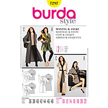 Buy Simplicity Burda Women's Kimono Sewing Pattern, B7297 Online at johnlewis.com