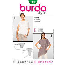 Buy Simplicity Burda Women's Top Sewing Pattern, B7340 Online at johnlewis.com