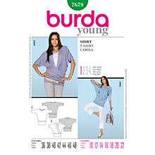 Buy Simplicity Burda Women's Top Sewing Pattern, B7678 Online at johnlewis.com