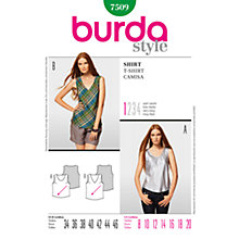 Buy Simplicity Burda Women's Top Sewing Pattern, B7509 Online at johnlewis.com
