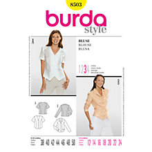 Buy Simplicity Burda Blouses Sewing Pattern, B8503 Online at johnlewis.com