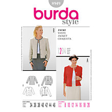 Buy Simplicity Burda Women's Jacket Sewing Pattern, B8949 Online at johnlewis.com