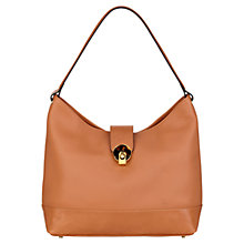 Buy Modalu Jean Leather Shoulder Handbag, Camel Online at johnlewis.com