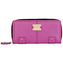 Buy Modalu Pippa Large Zip Around Wallet, Magenta Online at johnlewis.com