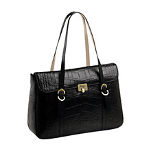 Buy Tula Lock Collection Large Tote Leather Handbag Online at johnlewis.com