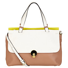 Buy Modalu Jean Leather Grab Handbag, Multi Online at johnlewis.com