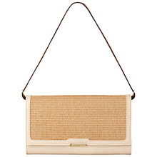 Buy Fiorelli Dixie Clutch Handbag, Sand Online at johnlewis.com