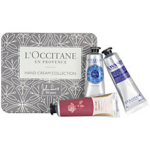 Buy L'Occitane Hand Cream Collection, 3 x 30ml Online at johnlewis.com