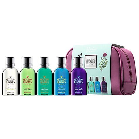 Buy Molton Brown Stowaways Body Wash Collection, 5 x 50ml Online at johnlewis.com