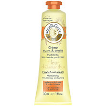 Buy Roger & Gallet Fleur d'Osmanthus Hand & Nail Cream, 30ml Online at johnlewis.com