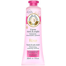 Buy Roger & Gallet Rose Hand & Nail Cream, 30ml Online at johnlewis.com