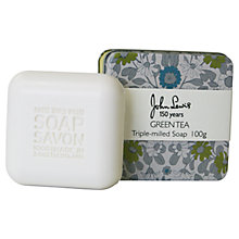 Buy Scottish Fine Soaps Daisy Chain Print Triple Milled Soap Online at johnlewis.com