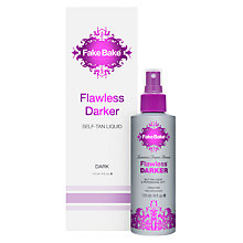 Buy Fake Bake Flawless Darker Self Tan, 170ml Online at johnlewis.com