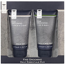 Buy Heathcote & Ivory Fine Grooming Daily Essentials Duo, 2 x 175ml Online at johnlewis.com