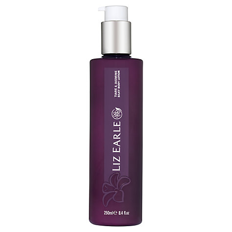 Buy Liz Earle Bath & Body Tiare & Jasmine Silky Body Lotion, 250ml Online at johnlewis.com