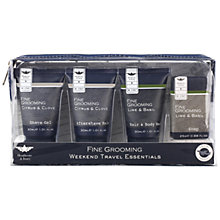 Buy Heathcote & Ivory Fine Grooming Weekend Travel Essentials Online at johnlewis.com