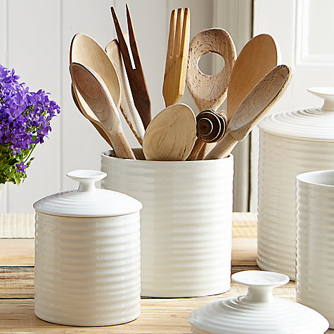 Buy Sophie Conran for Portmeirion Oval Utensil Jar Online at johnlewis.com