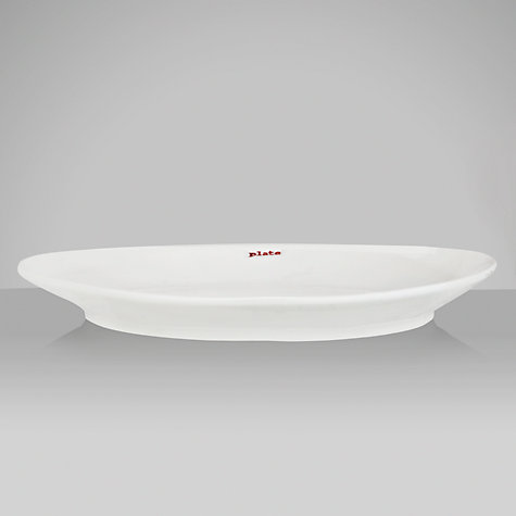 Buy Keith Brymer Jones Word Side Plate Online at johnlewis.com