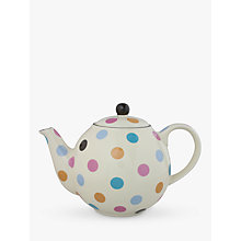 Buy London Pottery Spot Teapot, Multi Online at johnlewis.com