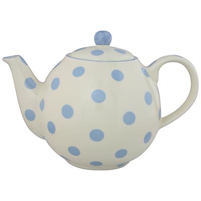 London Pottery Spot Teapot, Powder Blue
