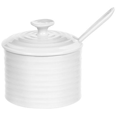 Image of Sophie Conran for Portmeirion Condiment Pot & Spoon