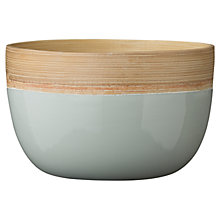 Buy Bloomingville Alberte Bamboo Bowls, Set of 2 Online at johnlewis.com