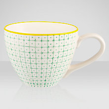 Buy Bloomingville Carla Tea Cup & Saucer, Assorted Online at johnlewis.com