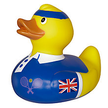 Buy Tennis Bathtime Rubber Duck Online at johnlewis.com