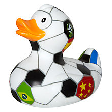 Buy World Cup Football Bathtime Rubber Duck, Multi Online at johnlewis.com