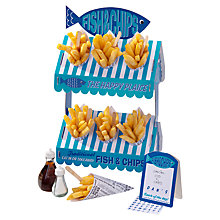 Buy Talking Tables Fish and Chip Shop Party Display, Blue/White Online at johnlewis.com