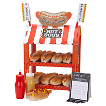 Buy Talking Table Hot Dog Van Display, Red/White Online at johnlewis.com