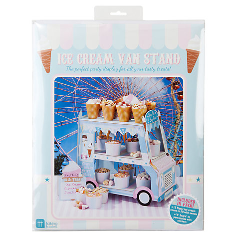 Buy Talking Tables Ice Cream Van Stand, Multi Online at johnlewis.com