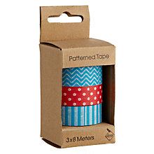 Buy Deva Patterned Tape, Set of 3 Online at johnlewis.com